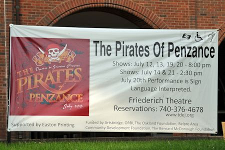 sign at Friederich Theatre